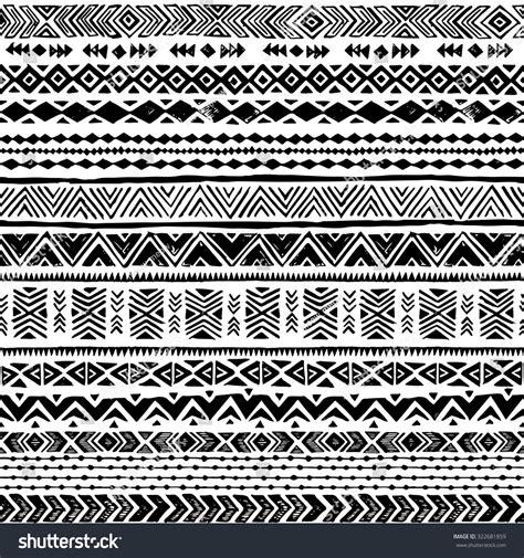 black and white aztec wallpaper black white navajo seamless pattern aztec stock vector