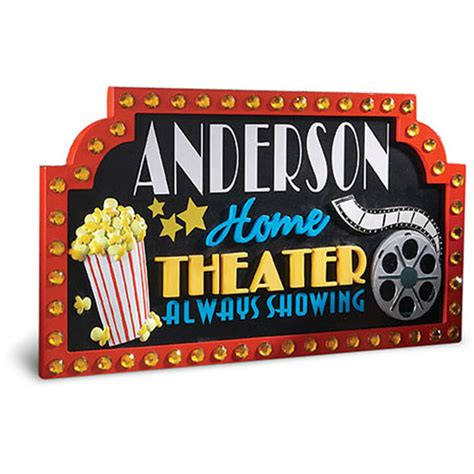 Home Theater Signs by Home Theater Marquee Sign Images