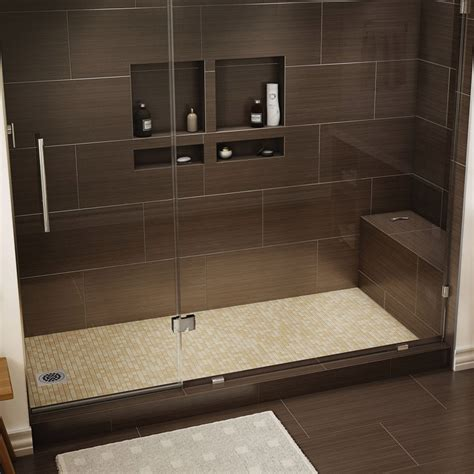 shower pan with bench seat tile redi redi bench shower seat homeproshops