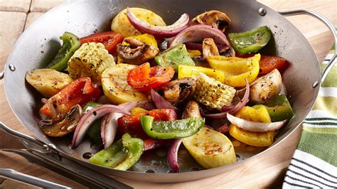 vegetables on the grill roasted garlic grilled vegetables mccormick