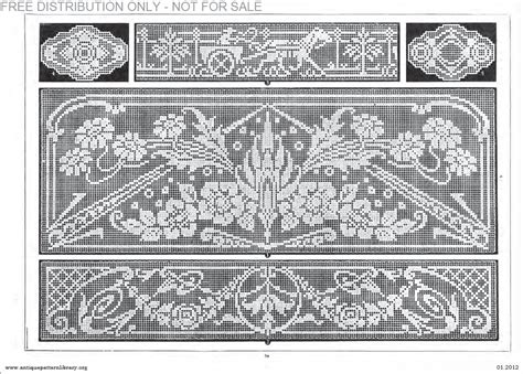 antique pattern library password apl b af003 filet ancien au point de reprise xii le page 34