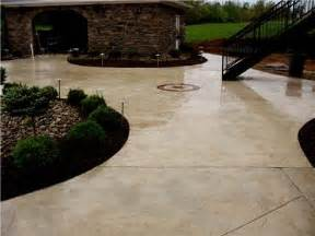 Colored Concrete Patio Pictures by Stamped Concrete Louisville Ky Photo Gallery Ohio