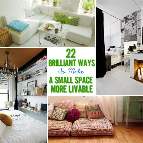 brilliant ideas   tiny apartment