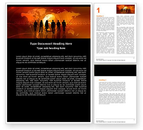 success story word template 05060 poweredtemplate com