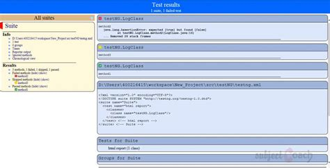 xml reports tutorial working with testng starters guide test reports