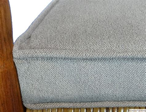 upholstery welting custom 3 piece kennedy rocker cushions from your fabric