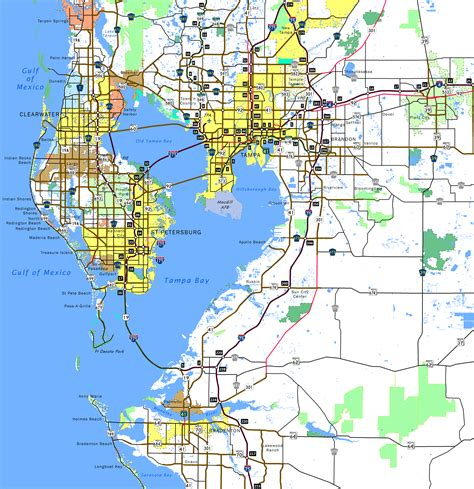 map of ta bay area florida opinions on ta bay area