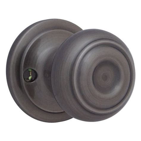 should i replace builder installed brass door knobs to
