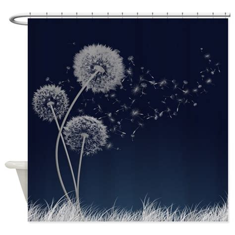 Dandelion Wishes dandelion wishes shower curtain by thehappymuse