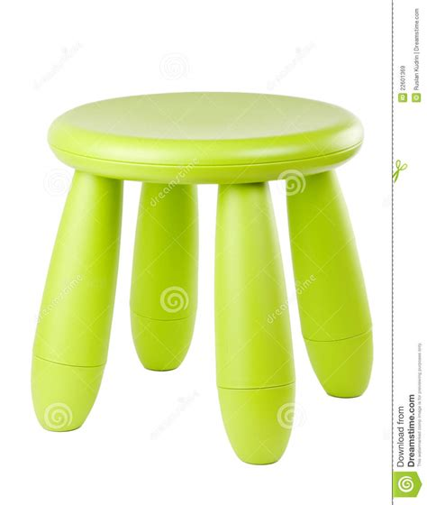 baby green plastic stool royalty free stock images image