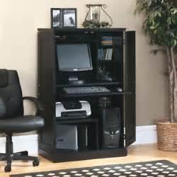 Sauder Armoire Computer Desk Sauder Computer Desk Storage Furniture Armoire Home Office Workstation New Ebay