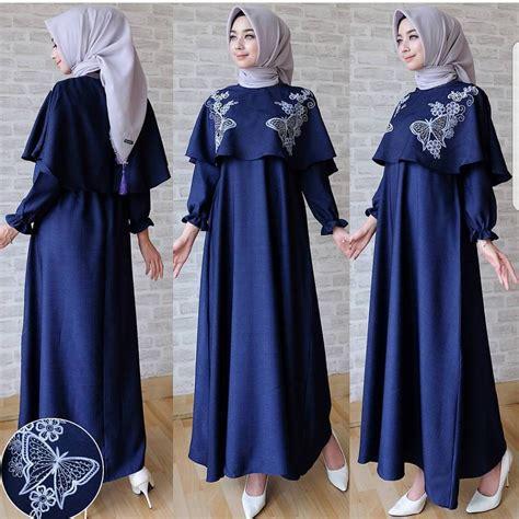 Maxi Dress Gamis Syari nf gamis syari kupu kupu maxi shopee indonesia