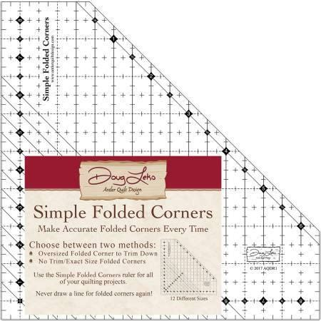 pattern maker cape town simple folded corners ruler by doug leko aqdr1 from