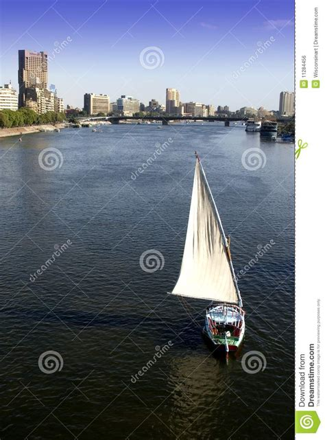 boat prices in egypt cairo egypt city skyline sailboat nile river stock photo