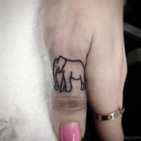 finger tattoo elephant 19 best elephant tattoos on finger