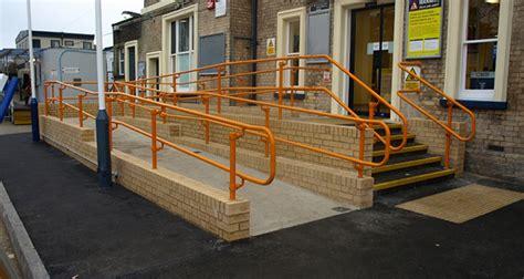 Dda Compliant Handrails dda compliant access handrail kee safety uk