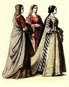 Overall no important change was made in the medieval fashion before