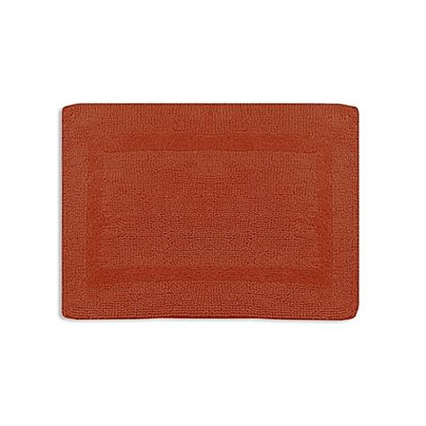 Wamsutta Reversible Bath Rug Buy Wamsutta 174 24 Inch X 40 Inch Reversible Bath Rug In Spice From Bed Bath Beyond