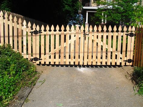 wood picket fence sections best picket fence gate at home fence ideas