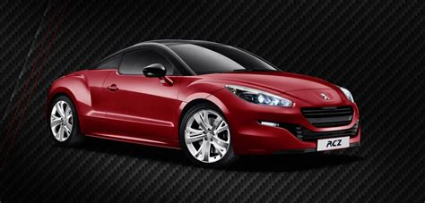 peugeot rcz usa peugeot rcz red carbon special edition launched in