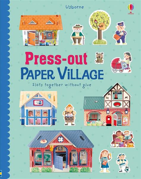 Press Out Model Book press out paper at usborne books at home