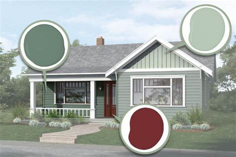 finishing touches paint photoshop redo plain box gets period charm this house
