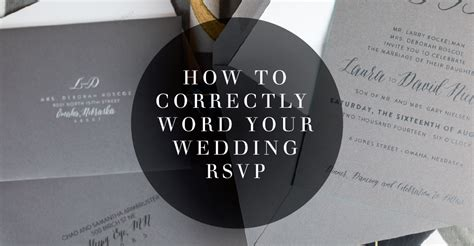 how to word rsvp cards for a wedding how to correctly word your wedding rsvp card meldeen