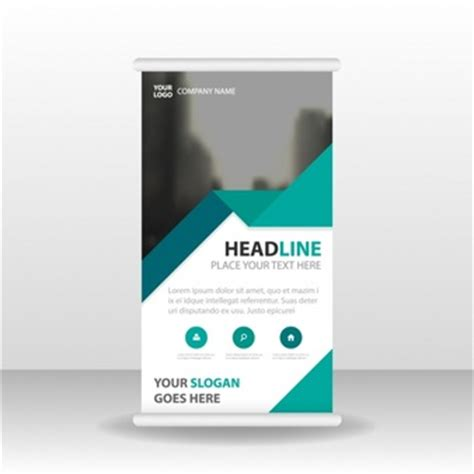 Banners Vectors 16 100 Free Files In Ai Eps Format Standing Banner Design Template
