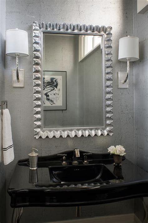 silver mirror wallpaper gallery