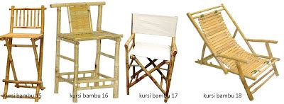 desain meja dari bambu taman bambu nusantara aneka model furnitur dari bambu