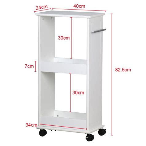 Slim Rolling Cart With Drawers Slimline Rolling Storage Shelf With 4 Wheels Space Saver