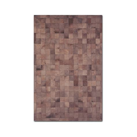 Small Cowhide Rug Barcelona Cowhide Small Patch Rug 5 X 8 Brown