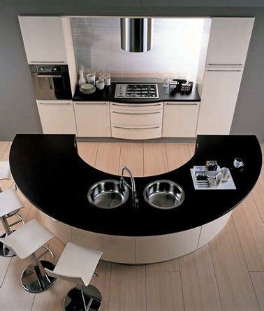 cuisine ilot central arrondi cuisine en image 10 cuisines avec 238 lot central tendances deco cool