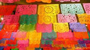 Mexican Paper Crafts - papel picado translates to quot perforated paper quot mexican