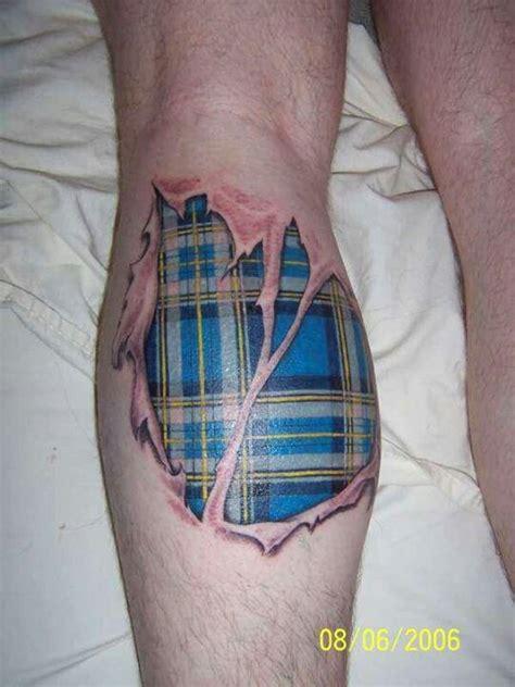 plaid tattoo designs scottish tartan awesome tattoos a
