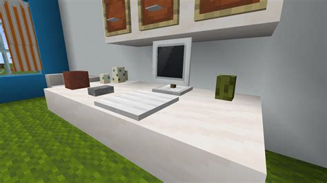 computer minecraft furniture