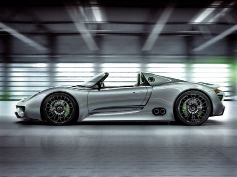 Porsche 918 Spyder Concept Photos And Wallpapers
