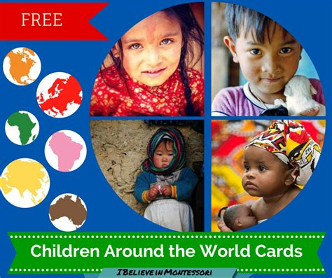 printable postcards from around the world i believe in montessori expanding the child s horizons