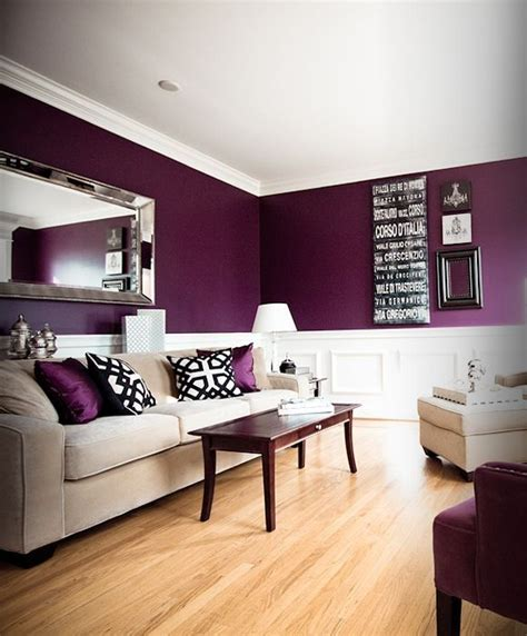 purple living rooms purple and black living room for kiana pinterest