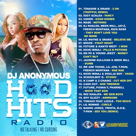 dj sarah young 3 hit radio various artists hood hits radio hosted by dj anonymous