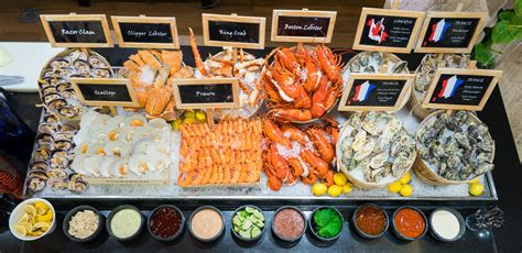 Where To Find The Best Seafood Buffets In Singapore Seafood Brunch Buffet