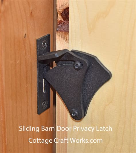 Sliding Barn Door Latch by Sliding Barn Door Privacy Latch Secure Privacy On Sliding