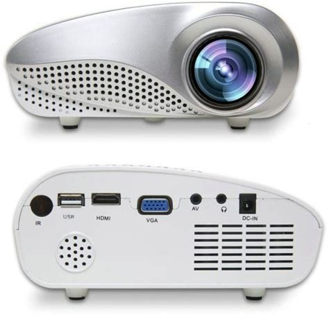 Mini Portable Projector Led 60 Lumens Sd Card Tv 480x320px Vs311 mini portable 60 lumens 1080p led projector and media