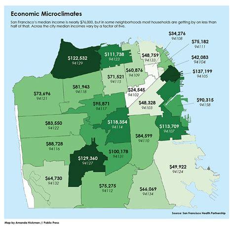 san francisco rent map high housing prices undercut aid programs san francisco