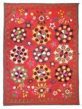 uzbek vintage suzani handmade embroidery sew et al pinterest 17 best images about fabrics textiles wallpaper on