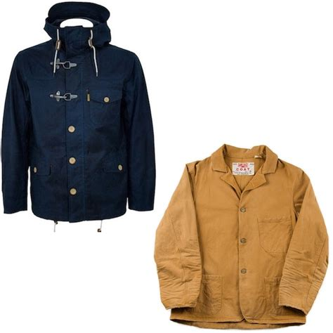 Promo Jaket Levis Hoodie Ngr7 levis vintage sunset yellow workwear coat modern classics by ben sherman waxed hooded jacket
