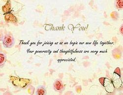 wedding thank you card templates word 17 best ideas about wedding thank you wording on
