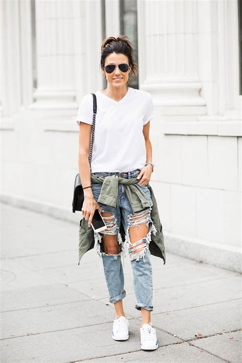 7 Tops That Go From Day To Evening by 3 Ways To Wear Your Favorite Sneakers From Day To