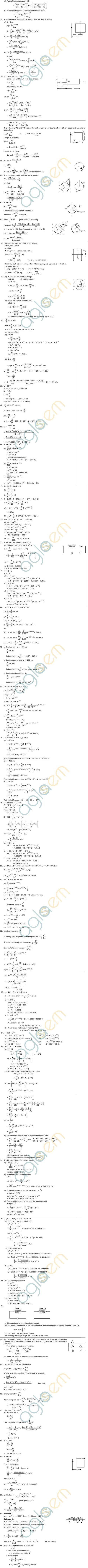 capacitors hc verma solutions electromagnetic induction aglasem 28 images ncert solutions for class 12th physics chapter 6