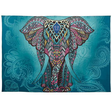 Bettdecke Häkeln by Bunt Elefant Indische Decke Bettdecke Wandbehang